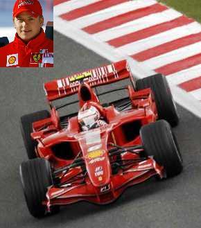 Kimi - Ferrari